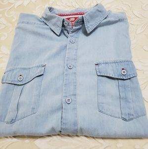 Ecko Chambray Camp Shirt